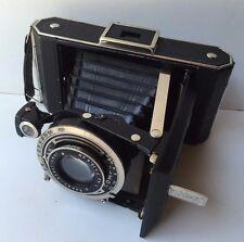 Antique Decorative German Folding Photo Camera Kodak Vollenda 620 Compur Shutter