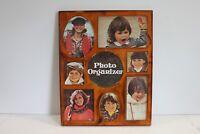Photo Collage Organizer Frame Plastic Vintage 70's