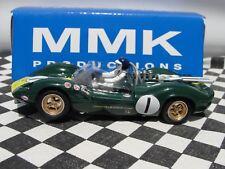 "PSK/MMK Lotus 40 ""Jim Clark"" #1 Verde Resina 1:32 Ranura Nuevo Y En Caja LE"