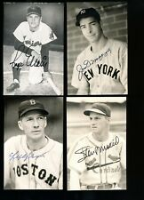ROGER MARIS Autographed INDIANS Postcard w/COA - DIED IN 1985