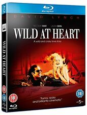 "WILD AT HEART DAVID LYNCH NICOLAS CAGE BLU-RAY REGION B AUSTRALIA ""NEW&SEALED"""