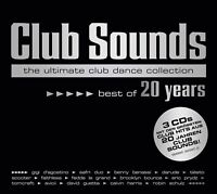 CLUB SOUNDS-BEST OF 20 YEARS (AVICII, SCOOTER, SYLVER,...) 3 CD NEW