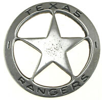 Texas Rangers Star Old West Historic Replica Badge,Vintage, #06