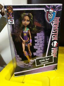 Monster High Wonder Wolf Superloba Mattel good condition in box