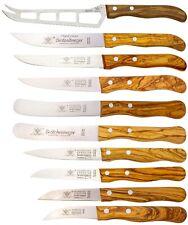 Solingen Küchenmesser Set 10tlg. Olivenholz Rostfrei - Schälmesser Gemüsemesser