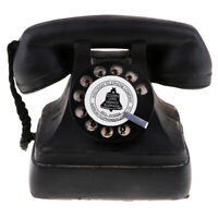 Vintage 1950's Phones Retro Rotary Dial Telephone Model Desk Decor