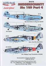 Lifelike Decals 1/48 MESSERSCHMIT Me-109 Fighter Part 4