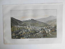 AMELIE LES BAINS PHOTOGRAVURE  la FRANCE de l' EST C.GILLOT 1902