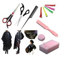 Magik 7 in 1 Salon Set Cut Scissors/Thinning Shears/Cloth/Sponge/Comb/Hair Clips