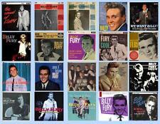 BILLY FURY ALBUMS  (set 1 of 2)  20  PHOTO FRIDGE MAGNETS