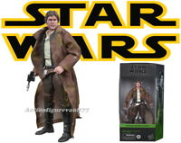"""2020 Star Wars The BLACK Series 6"""" HAN SOLO Trench Coat ( Endor ) ---IN-STOCK---"""