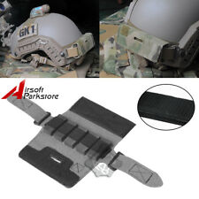 Airsoft Tactical Counterweight Bag Pouch 5 Weight Blocks for Helmet ARC Rails BK