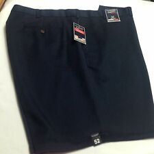 Roundtree/Yorke Men Travel Smart Shorts Flat Microfiber Expander Waistband 52