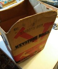 024 Vintage Keystone Nails 8 Smooth Box Peoria Illinois Advertising