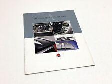 2002 Toyota Corolla Camry Solara Avalon Celica RAV4 Accessories Brochure French