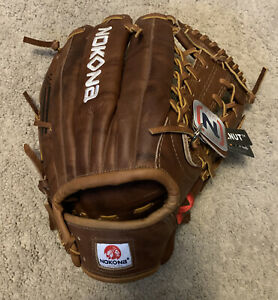 Nokona Walnut  WB11-50 11.5 Inch Right Hand Throw! New With Tags! Made In USA!