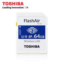 U3 Toshiba 64GB LAN Digital Card W-04 Secure SDHC Wireless Wifi FlashAir Memory