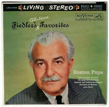LIVING STEREO Fiedler's Favorites LP NM Shaded Dog