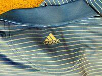 Adidas Climalite Stripped Short sleeve Shirt Mens size L