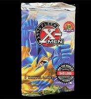 X-Men Trading Cards One Pack - Fleer 1996 New Unopened Marvel Vintage Non Sports