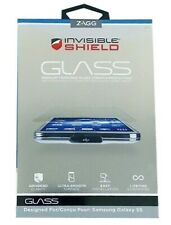 Zagg Screen Protector for Samsung Galaxy S5 Invisible Shield Tempered Glass