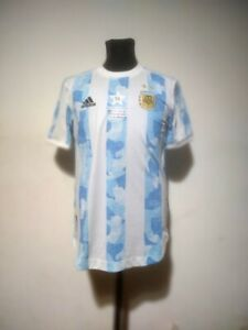 Argentina soccer jersey Adidas Heat.Rdy 2021 Size S Copa America Champions Ed