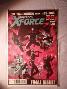 UNCANNY X-FORCE #35 (2013) FINAL ISSUE. MARVEL COMICS VF