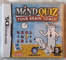Mind Quiz-tu cerebro entrenador DS LITE DSi formación juego NUEVO y SELLADO UK