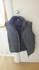 Boys grey padded gilet for 9 year olds