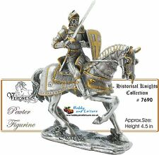 Pewter Knight in Light Horse Armour C16th Time Line Ancestors Veronese # 7690