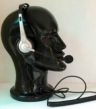 Binaural headset for Avaya Nortel Toshiba NEC Polycom Mitel Inter-tel Siemens GE