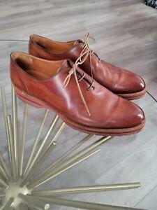 $1,400 BERLUTI Brown Wholecut Mens Dress Shoes 11 UK 11.5 US
