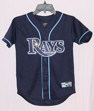 TAMPA BAY RAYS YOUTH JERSEY NAVY BLUE - MAJESTIC MLB