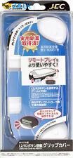 PS Vita Slim PSV 2000 2001 2002 Grip Handle Cover Case + L2 R2 Trigger White