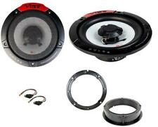 VW Golf MK7 Rear Door Speaker Upgrade Kit PULSE 6 Coaxial 180w 165mm 6.5""