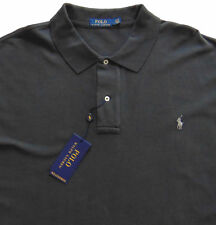 Men's POLO RALPH LAUREN Dark Carbon Gray POLO Shirt S Small Classic Fit NWT NEW