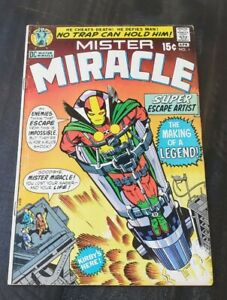 MISTER MIRACLE #1 KIRBY 1971 MOVIE 4th World 1st MR MIRACLE & OBERON