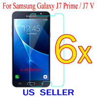6x Clear Screen Protector Guard Cover Film For Samsung Galaxy J7 Prime / J7 V