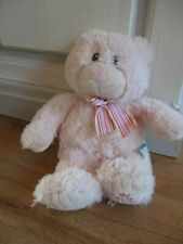 Pink my first teddy bear super soft small stuffed toy