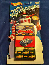 2002 Holiday Exclusive Hot Wheels Frosty's Cool Cruisers 3 Car Gift Set