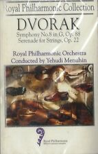 MUSICASSETTA  DVORAK - SYMPHONY N. 8 // SERENADE FOR STRINGS OP. 22     sig.(23)