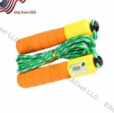 Lcd Jumping Adjustable Calorie Count Timer Skipping Jump Rope With Counter