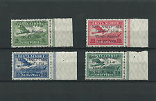 #77 Postage Stamp Albania Airmail with Overload 1925 ** MNH