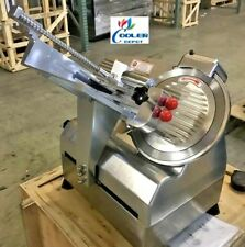 """New 12"""" Commercial Automatic Electric Meat Deli Auto Slicer Model B300A Hot Pot"""