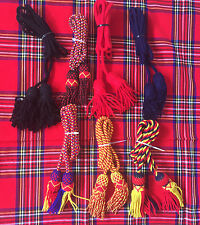 Army Bugle Wool Cord Various Colors/British Bugle Cord Wool BB/Bb Bugle Cord.