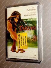 TARZAN  -  WALT DISNEY  -  PHIL COLLINS  -  SOUNDTRACK  -  MC  NUOVA E SIGILLATA