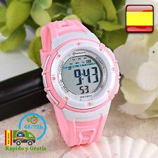 Reloj de Niña Digital Infantil Deportivo Rosa Relojes Multifunción Para Niñas