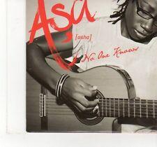 (FT990) Asa, No One Knows - 2008 DJ CD