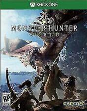 Monster Hunter: World USED SEALED (Microsoft Xbox One, 2018)