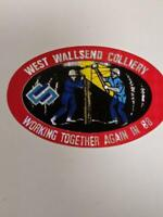Retro Mining Sticker - West Wallsend Colliery Working Together again in 88